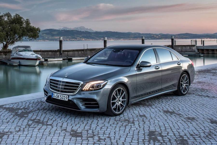 Mercedes S Class for hire from AM Auto Rent