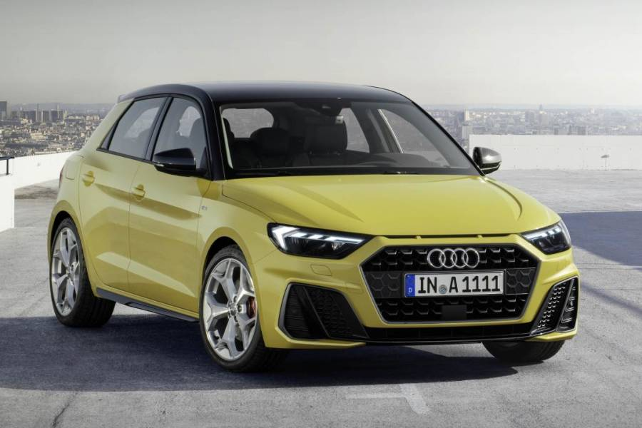 Audi A1 for hire from AM Auto Rent