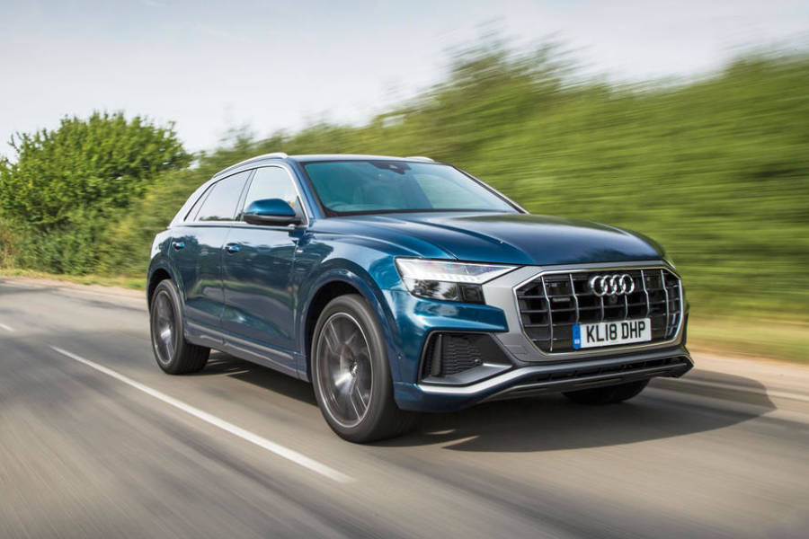 Audi Q8 for hire from AM Auto Rent