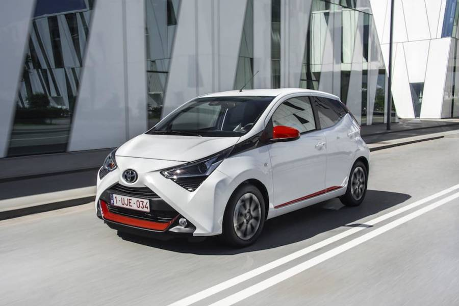 Toyota Aygo for hire from AM Auto Rent
