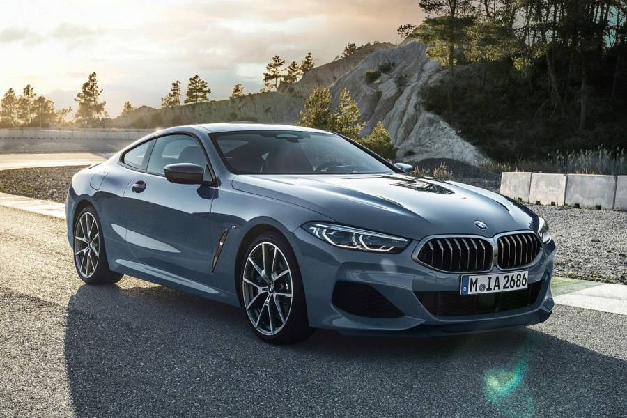 BMW 8 Series for hire from AM Auto Rent
