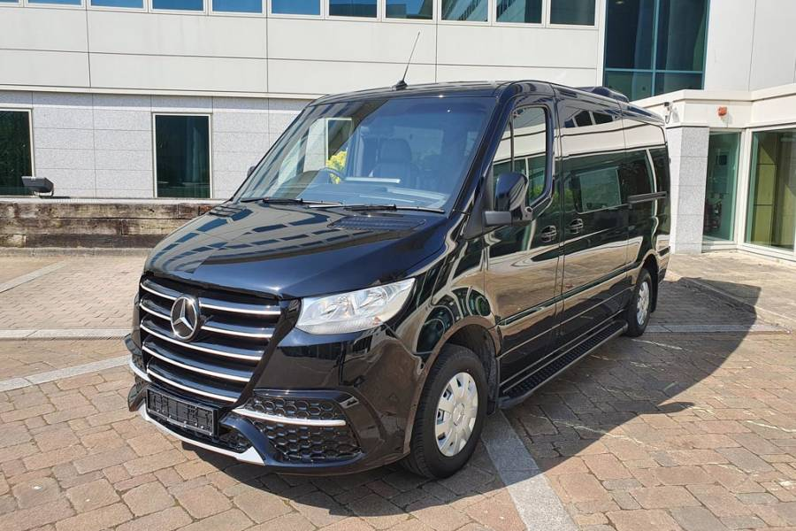 Mercedes Benz Sprinter for hire from AM Auto Rent