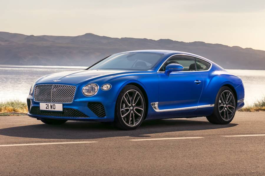 Bentley Continental for hire from AM Auto Rent
