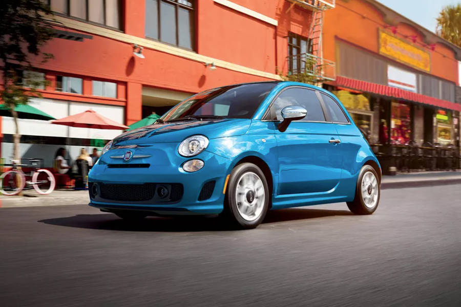 Fiat 500 for hire from AM Auto Rent
