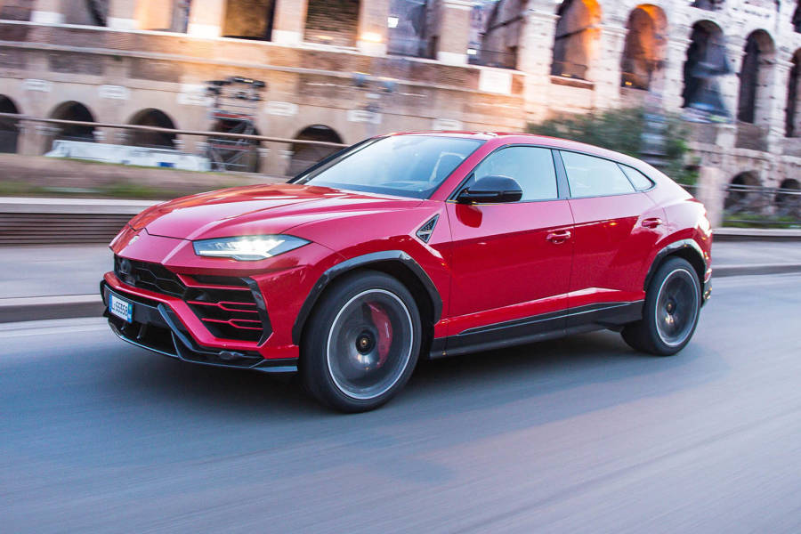 Lamborghini Urus for hire from AM Auto Rent