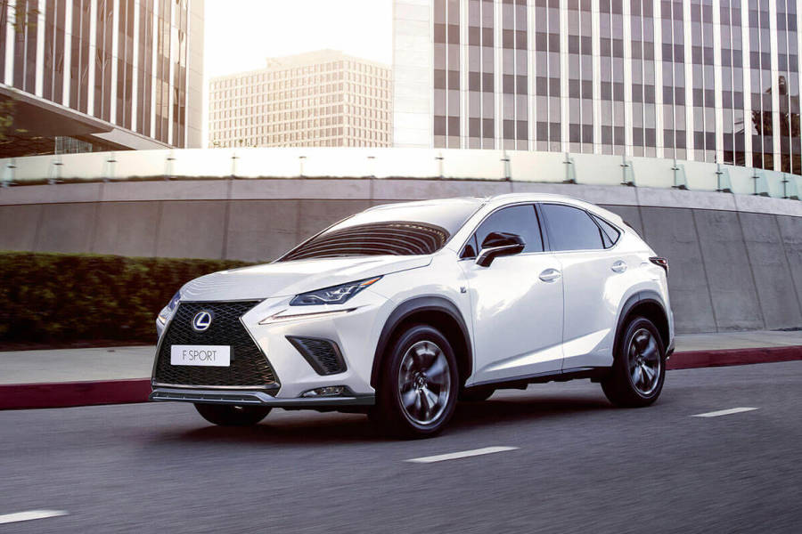 Lexus Nx300 Hybrid from AM Auto Rent