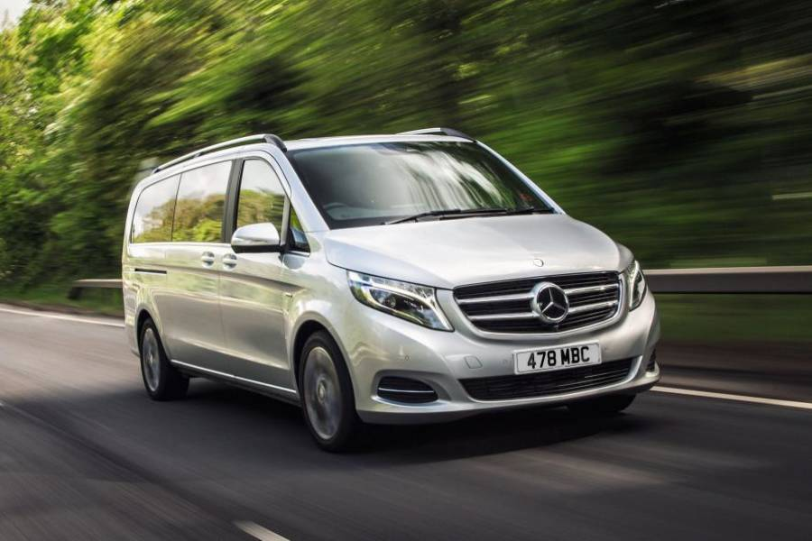 Mercedes V Class for hire from AM Auto Rent