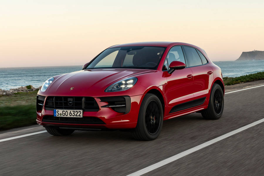 Porsche Macan for hire from AM Auto Rent