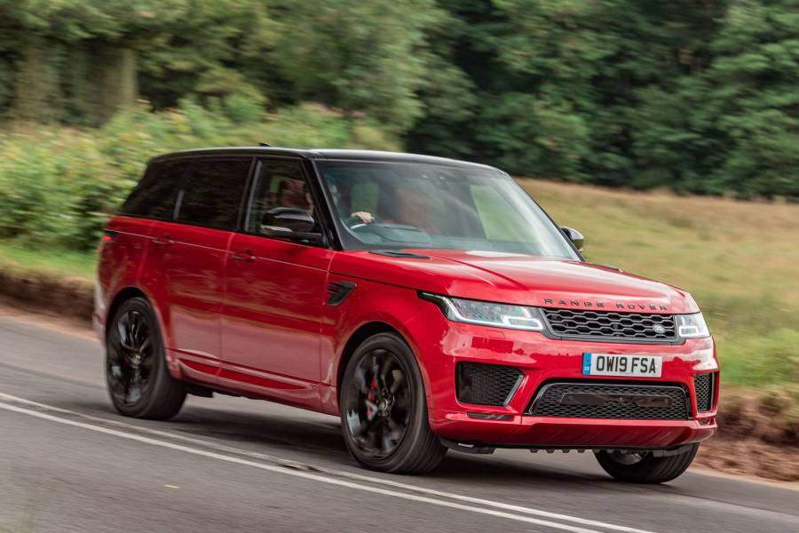 Range Rover Sport for hire from AM Auto Rent