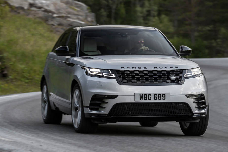 Range Rover Velar for hire from AM Auto Rent