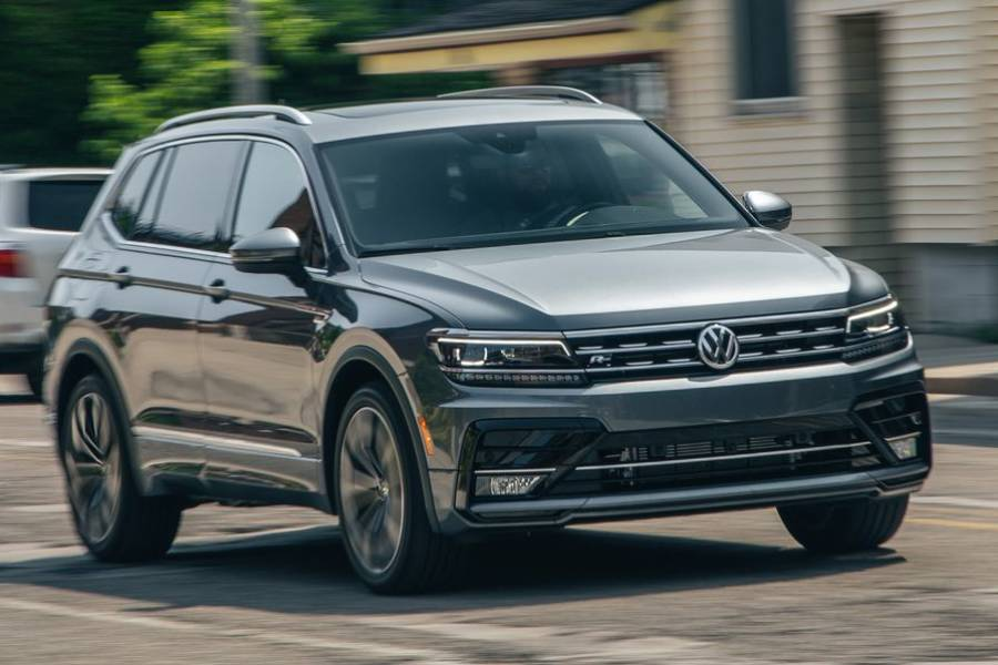 Volkswagen Tiguan for hire from AM Auto Rent