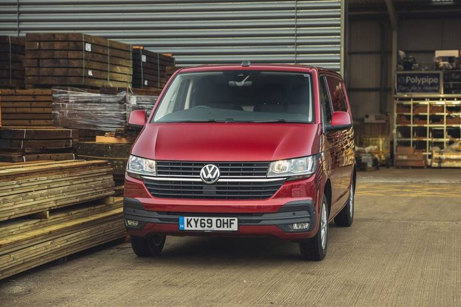 Volkswagen Transporter  for hire from AM Auto Rent